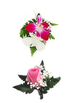 Orchid Boutonniere,  Lei Shop