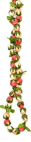 Artificial Leis, Pink Rosebud