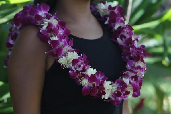 Double Tuberose Leis, Hawaiian leis