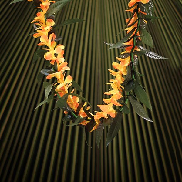 Everlasting Maile Orange Plumeria | Everlasting (Artificial)