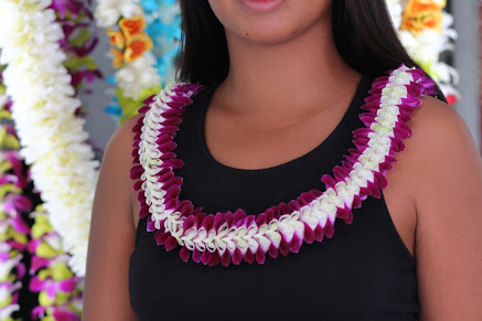 Lani Orchid Lei | Specialty Orchid Leis
