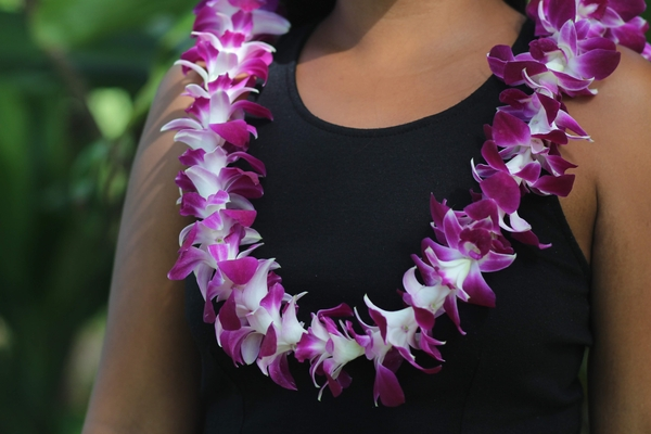 Hawaiian Leis, Orchid Lavender Lei