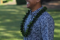 Image Kukui Mock Orange  Lei